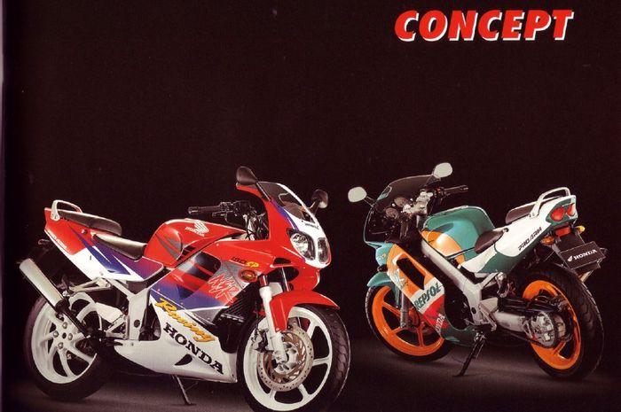 Honda NSR 150SP merupakan motor legendaris