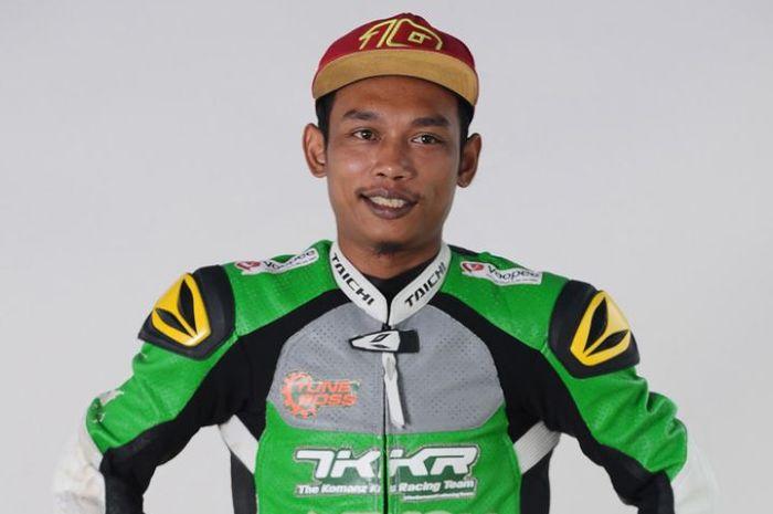 Norizman Ismail pembalap Malaysia senior yang meninggal saat kualifikasi road race Malaysia tahun lalu