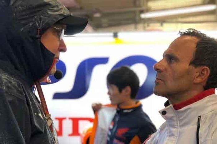 Alberto Puig, Bos Honda MotoGP yang kritik Valentino Rossi dan Dani Pedrosa