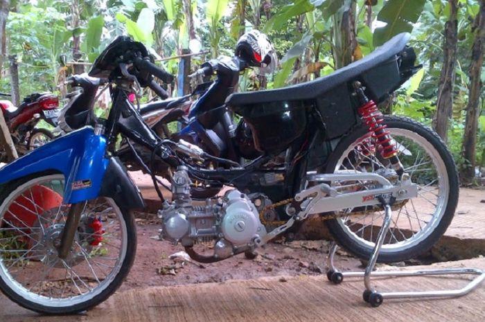 Bengis Walau Umur Sudah Gak Muda Suzuki Smash Ini Jawara Di Trek 500 Meter Semua Halaman Gridmotor Id