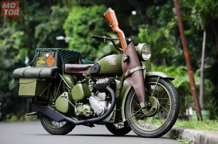 BSA M20 Army Look Custom Concept Industries