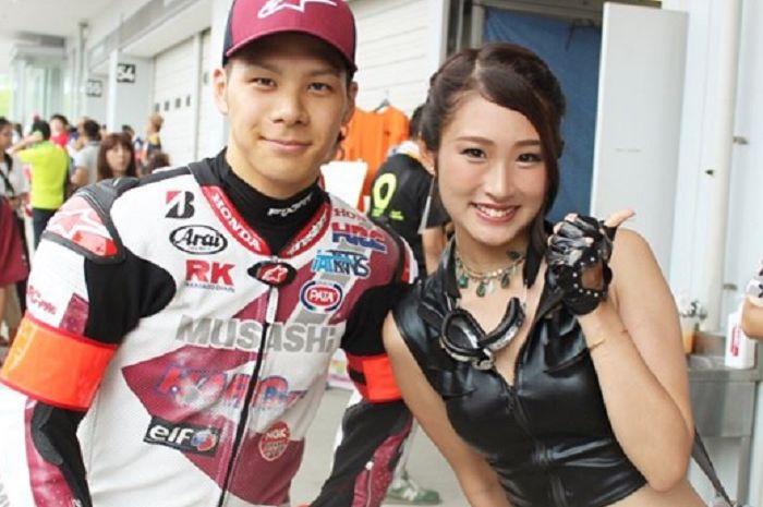 Pembalap LCR Honda, Takaaki Nakagami.