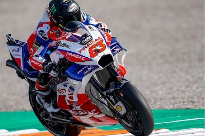 Pembalap baru Pramac Ducati, Fransesco Bagnaia.