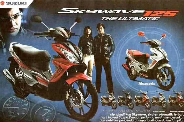 Brosur Suzuki Skywave 125