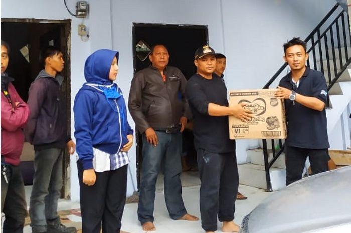 ARCI peduli korban tsunami Anyer, Banten.