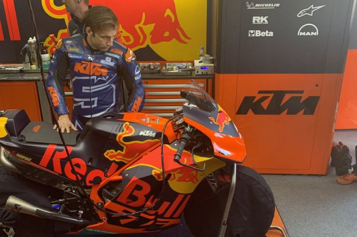Johann Zarco gabung di tim KTM.