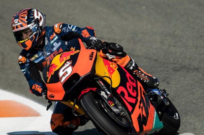Johann Zarco musim depan membela tim KTM.