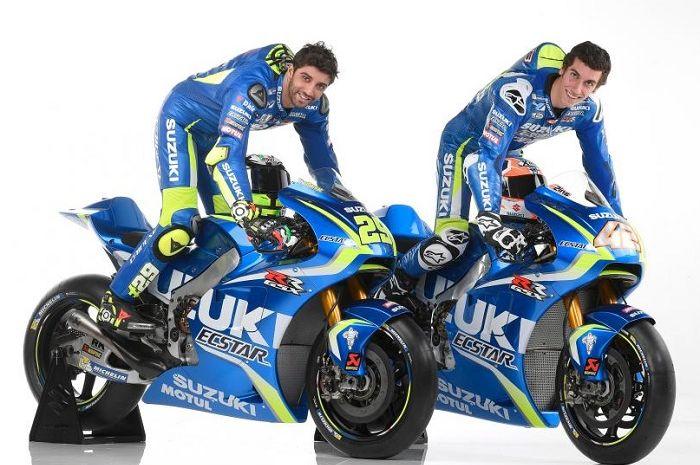 Andrea Iannone dan Alex Rins.