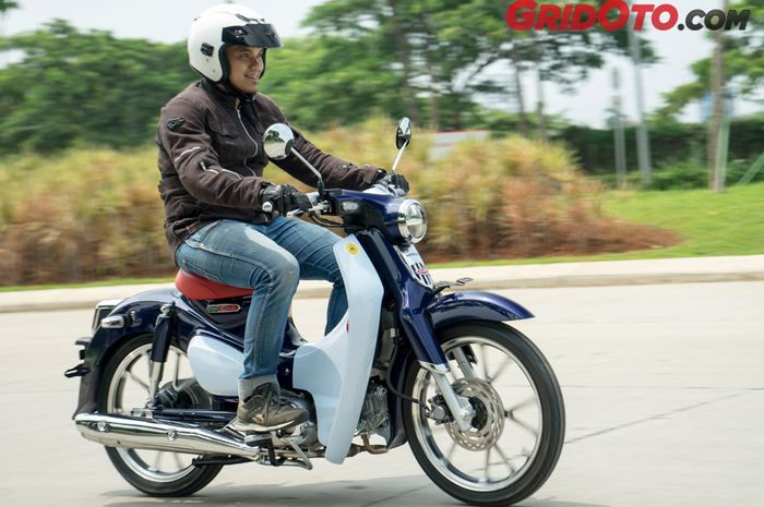 Test Ride Honda Super Cub C125