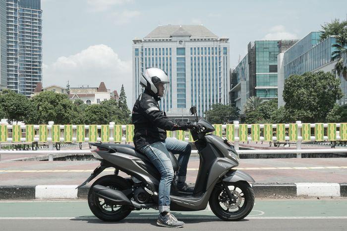 Test Ride Yamaha Freego