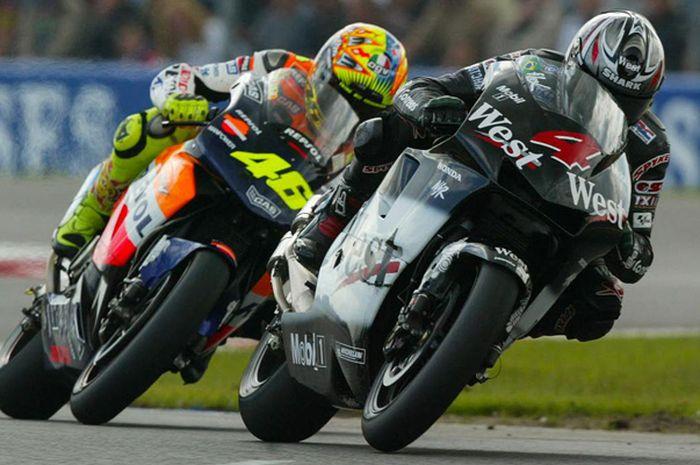 Honda RC211V, Valentno Rossi dan Alex Barros, jadi motor MotoGP pertama juara dunia era 4-Tak