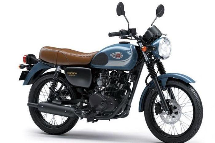 Salah satu varian motor Kawasaki, W175.