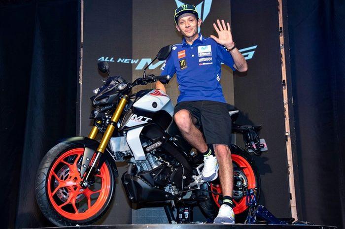 Valentino Rossi dan Yamaha MT-15 terbaru