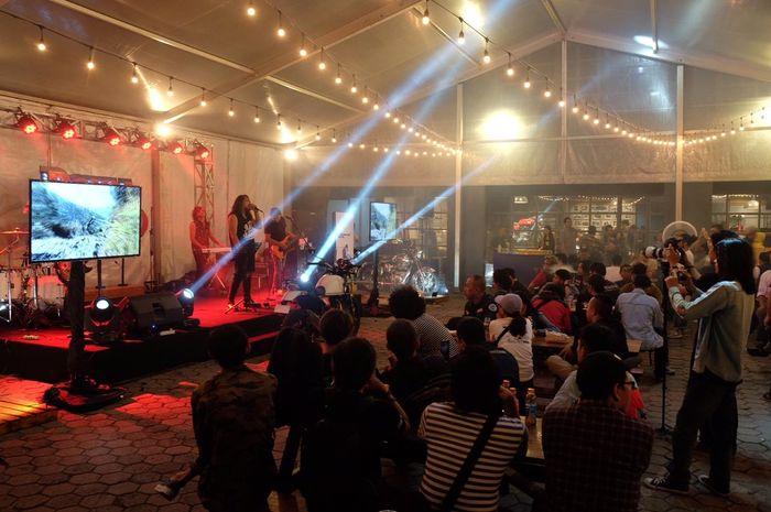 Susana Acara Royal Enfield 3rd Anniversary di Indonesia