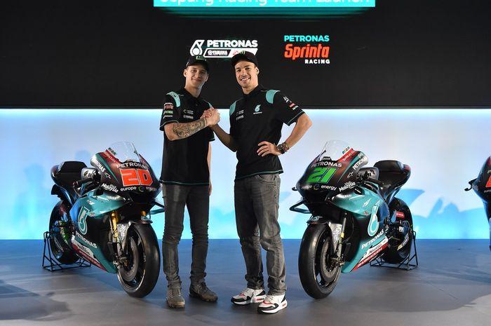 Petronas Yamaha SRT, tim dan pembalap boleh baru, ambisi setinggi langit