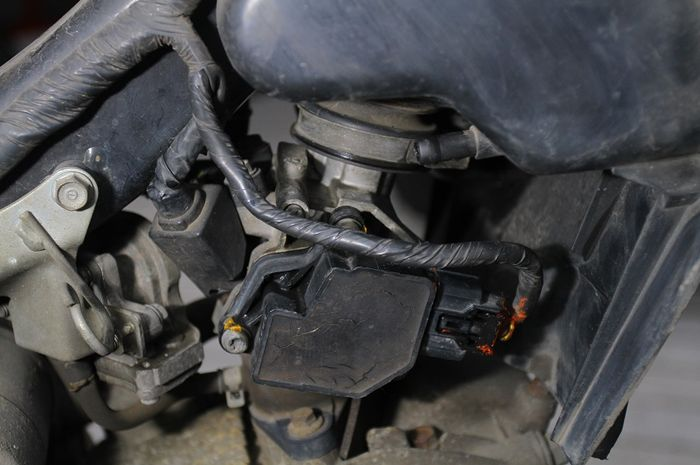 Agar Mesin Supra X125 Fi Normal, Reset Throttle Position Sensor (TPS