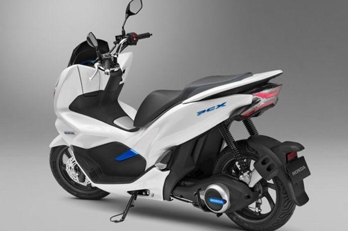 Motor listrik Honda PCX yang sudah diperkenalkan di Indonesia November lalu