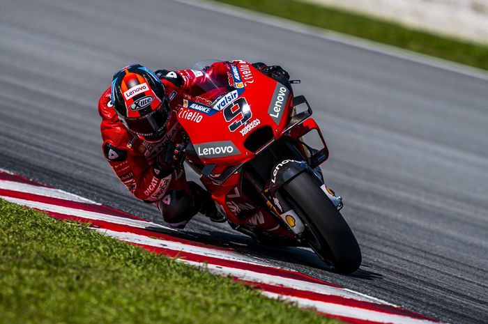 Danilo Petrucci unjuk kekuatan di atas Ducati setelah jadi orang nomor satu di tes pramusim MotoGP 2019 Sepang.