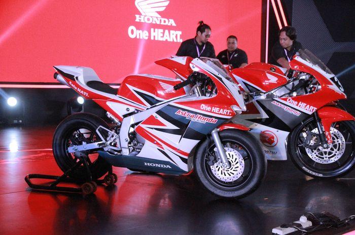 15 Unit Honda NSF100 untuk latihan siswa Astra Honda Racing School