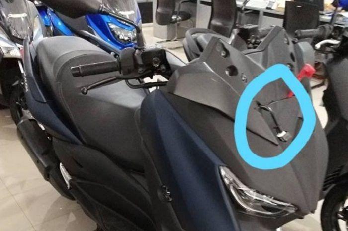 Kabel Yamaha XMAX bikin heboh.