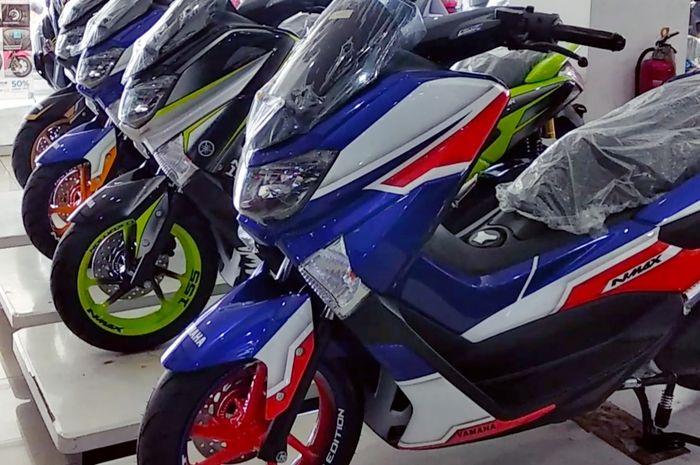 Yamaha NMAX Modifikasi di dealer Mekar Motor Bintaro.