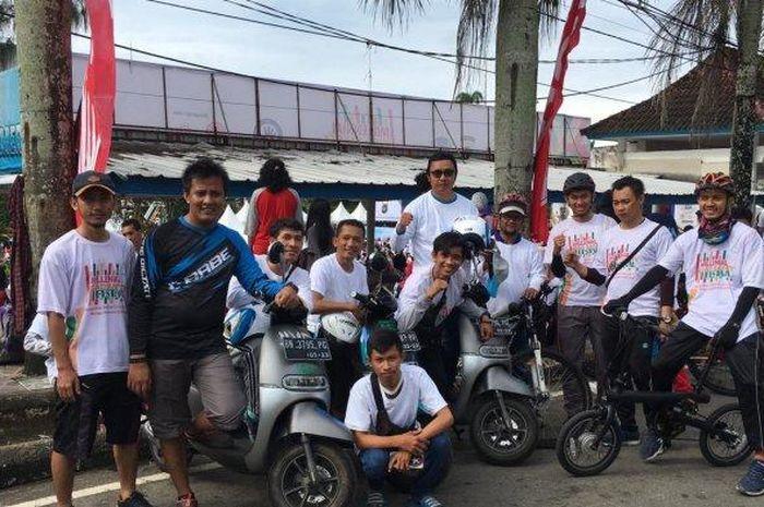 Komunitas Motor Listrik Ramaikan Millennial Safety Road