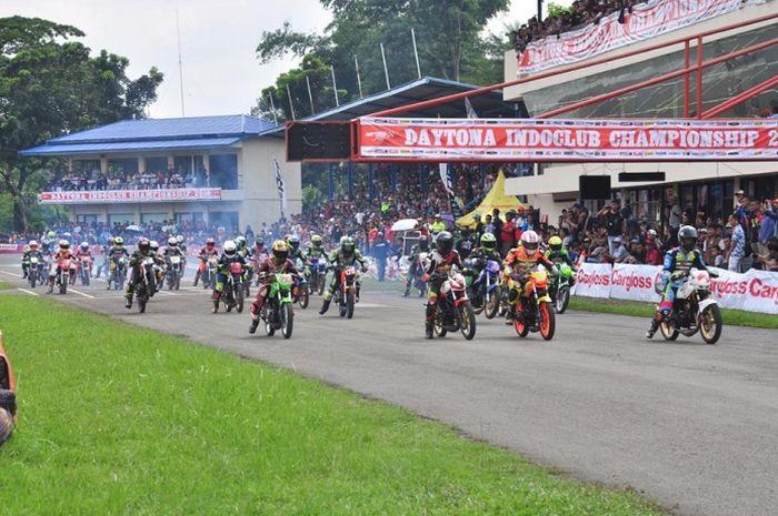Gelaran balap motor Indoclub 2019.