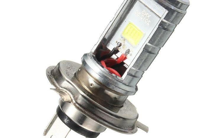 Ilustrasi lampu LED.