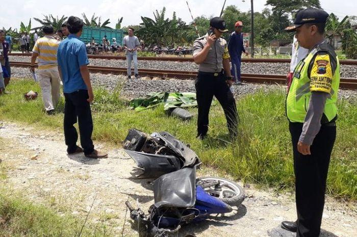 Insiden kecelakaan kereta api kembali terjadi di Grobogan, Jawa Tengah