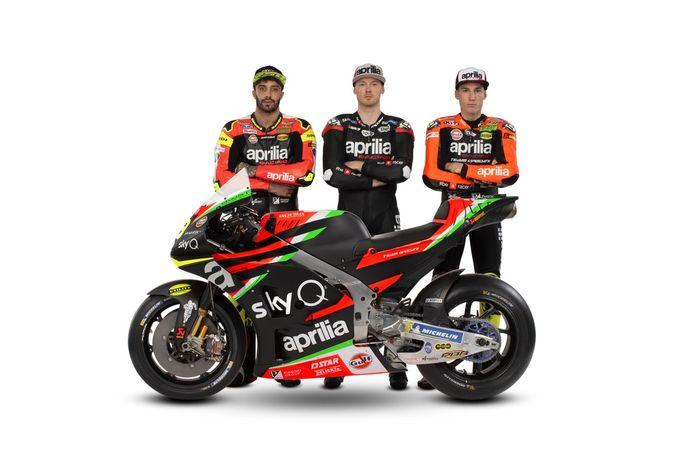 Aprilia Racing Team Gresini jadi tim pabrikan terakhir yang launching tim tahun ini
