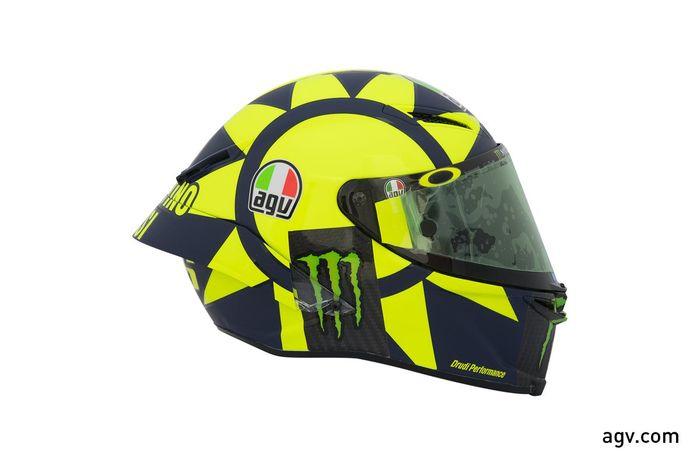 Helm AGV Pista GP R Valentino Rossi