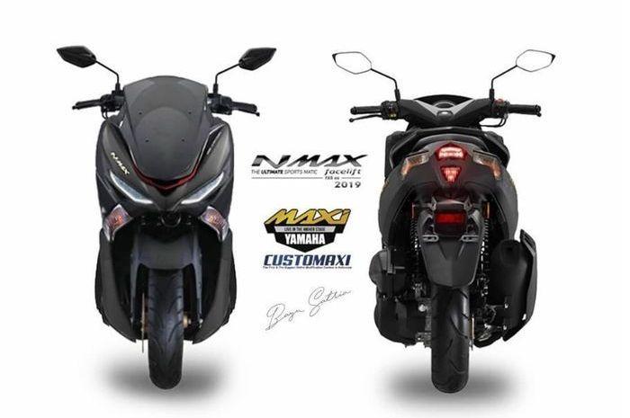 Renderan Yamaha NMAX facelift 2019.