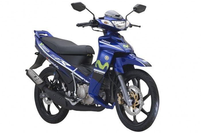 Yamaha 125Z masih dijual di Malaysia dengan edisi Movistar