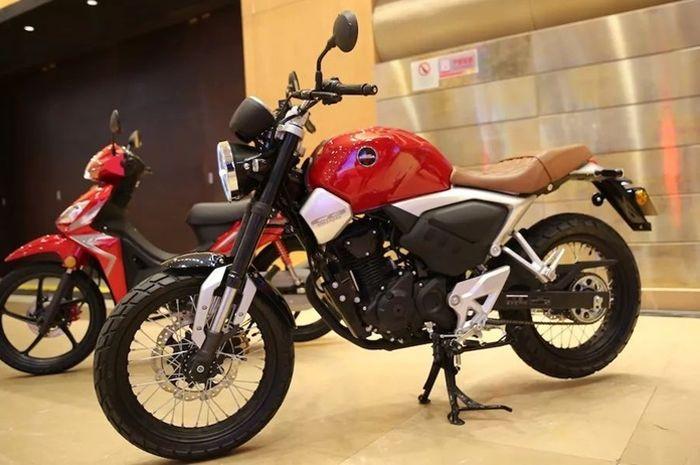 Desain Honda CB190SS lebih retro dibanding CB150 Exmotion