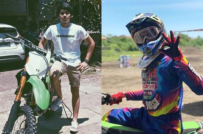 Diva Ismayana pembalap motocross Indonesia