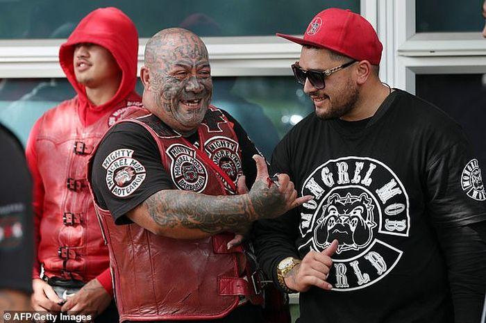 Club motor Mongrel Mob di Selandia Baru