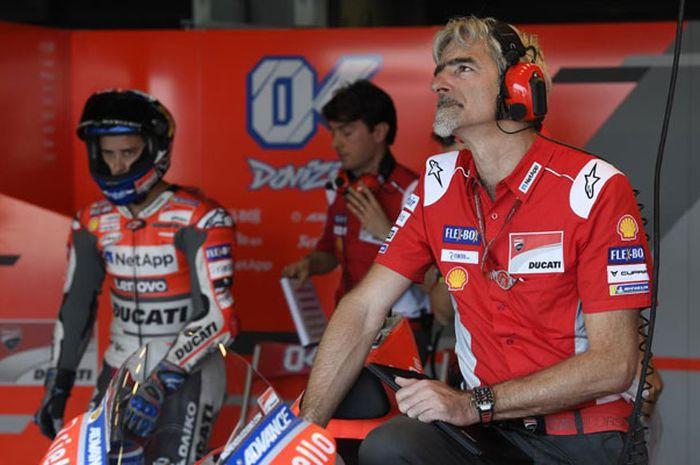 Luigi Dall'Igna selaku General Manager Ducati Corse bingung dengan protes 4 tim pabrikan soal motor MotoGP Ducati