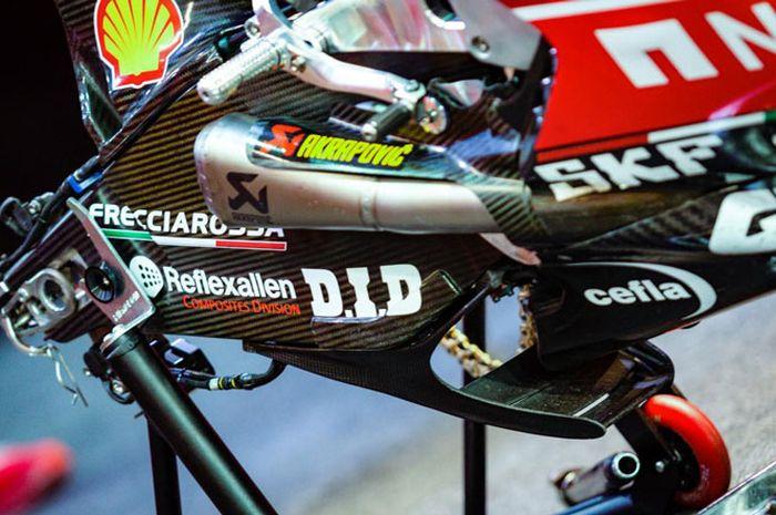 Aerodinamika baru di swing arm motor MotoGP Ducati diprotes oleh 4 tim pabrikan di MotoGP Qatar