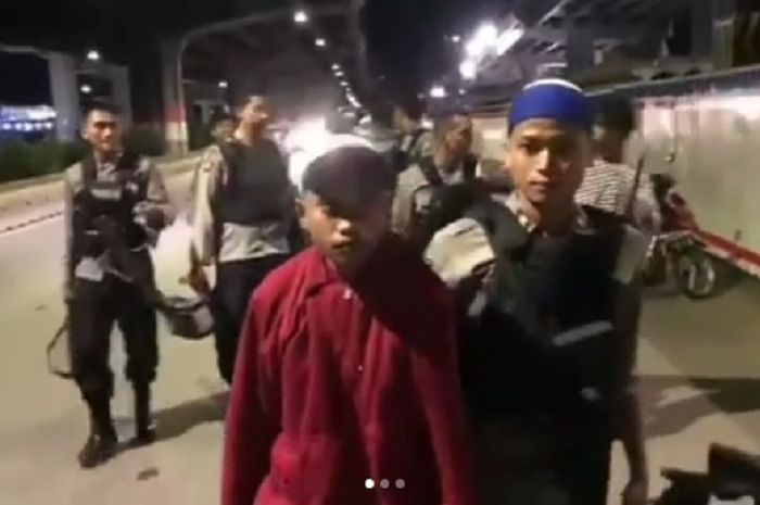 Geng motor yang sering bikin ulah ditangkap tim Raimas Backbone di Jakarta Timur.