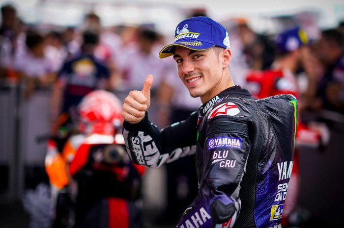 Maverick Vinales start posisi kedua di MotoGP Argentina 2019 berkat latihan naik motor yang gak biasa