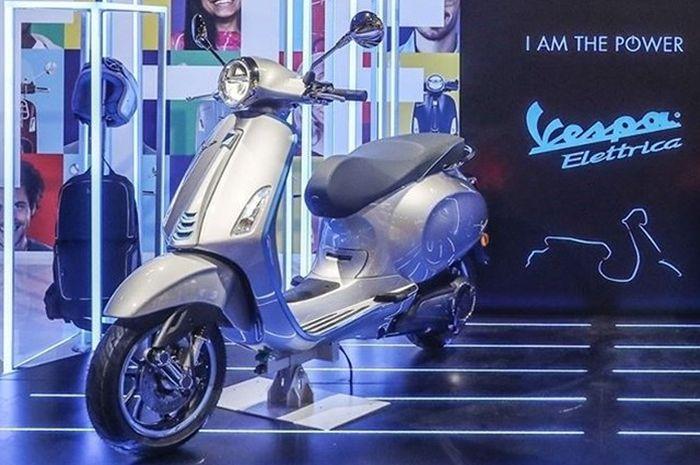 Motor listrik Vespa Elettrica segera masuk Indonesia