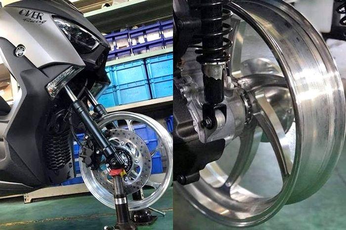Pelek Over Racing untuk Yamaha XMAX