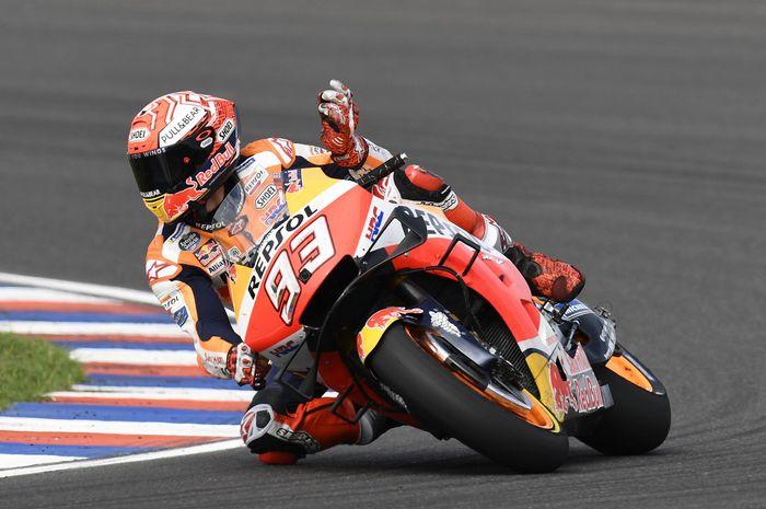 Meski difavoritkan juara di MotoGP Amerika, Marc Marquez memilih untuk fokus pada balapan dan menganggap semua pembalap adalah rival terberat