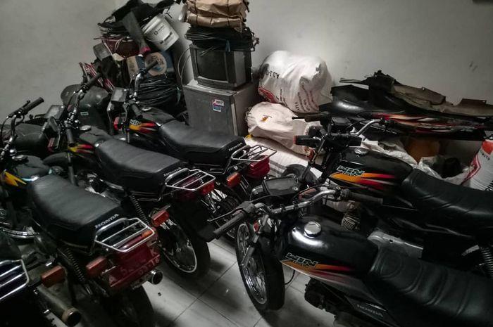 Honda Win Plat Merah Dilelang Murah, Rp 5 Jutaan Per Unitnya