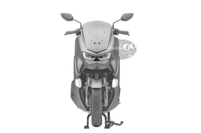 Perubahan lampu depan dan sein depan pada Yamaha NMAX