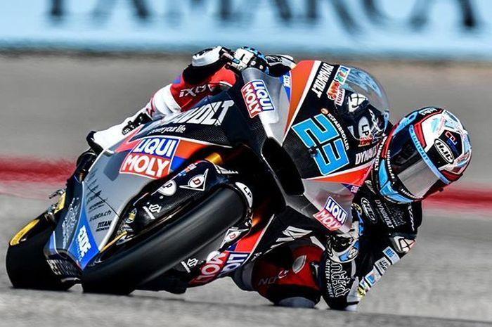 Marcell Schrotter raih kualifikasi tercepat di Moto2 Amerika 2019