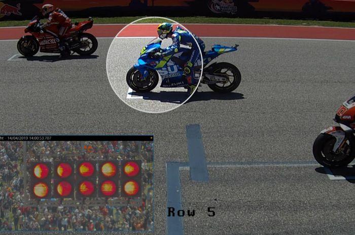 Jump start Joan Mir di MotoGP Amerika