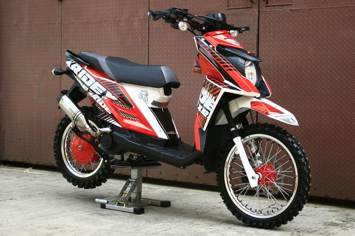 Yamaha X-Ride Imej Motor Matic Jadi Motor Trail Tulen