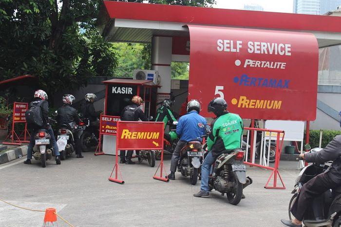 Update harga bensin Pertamina bulan November 2019.