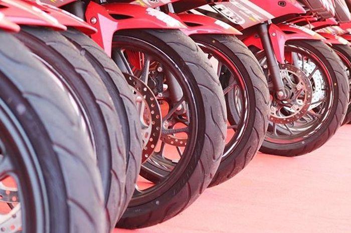Ban FDR dipakai untuk OMR Honda CBR150R